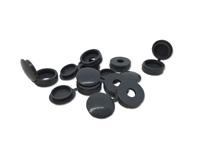 Hinged Screw Cover Caps 6g-8g Dark Grey